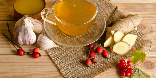 Heart healthy remedies, hawthorn, ginger, and garlic.